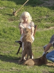 Reese/Marlena films additional scene with baby lion cubs!